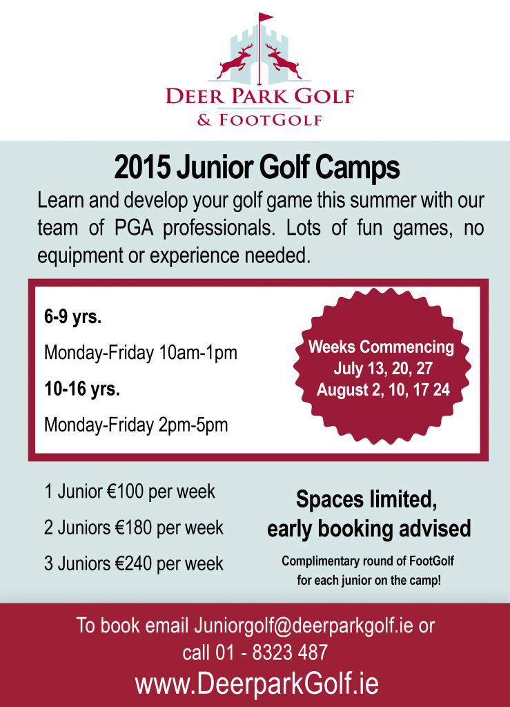 Deer Park Junior Camp flyer png